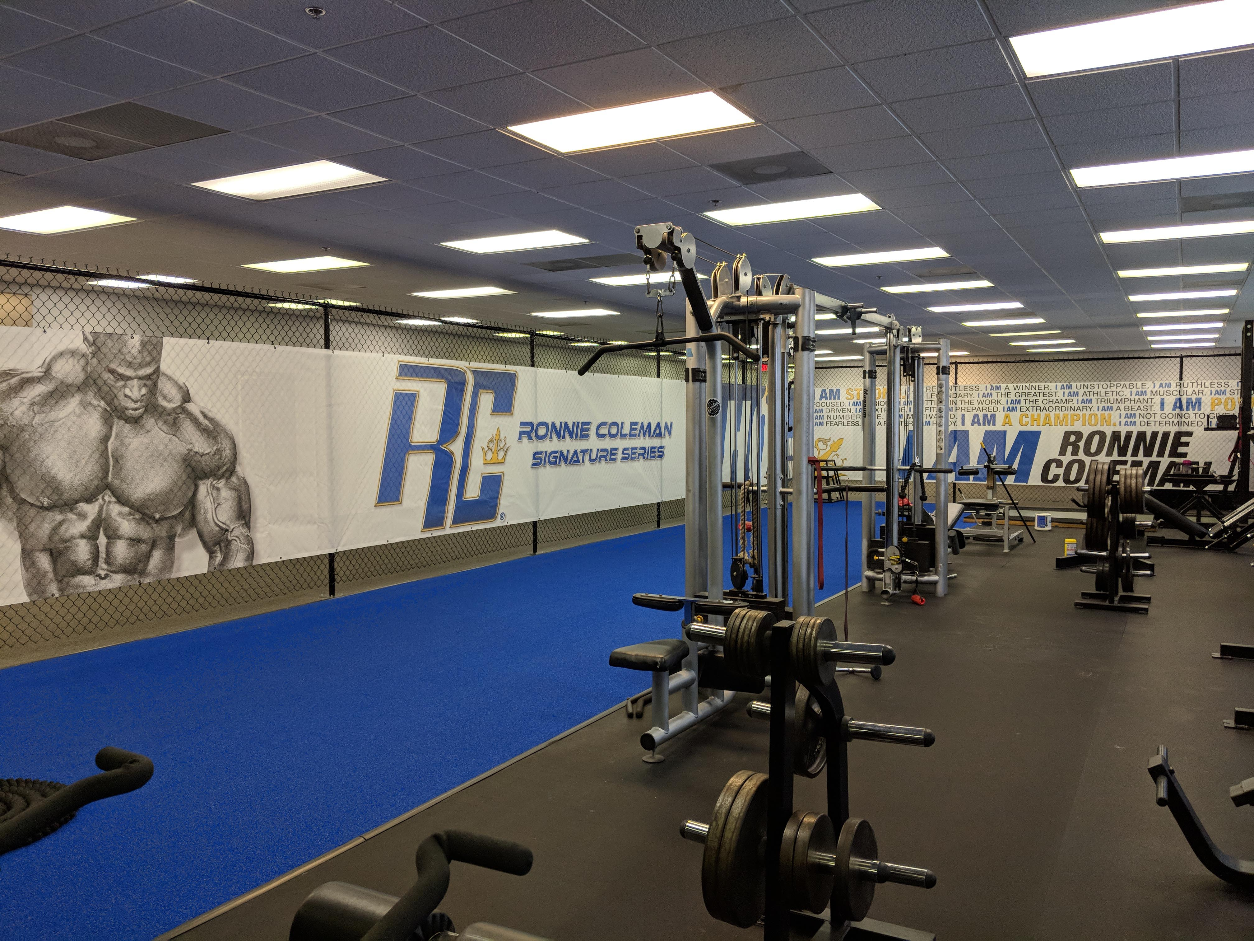Ronnie Coleman Signature Series HQ Gym New