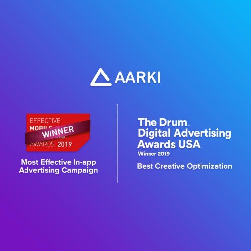 Aarki Scoops Up Two Industry Awards