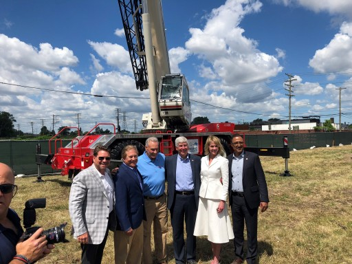 Alta Equipment Company Participates in Groundbreaking for Gordie Howe International Bridge