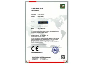 Metal Defender MD-33 CE Certification