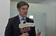 Dr OZ Talks To Chinese Media in Beijing