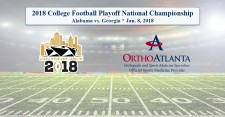 OrthoAtlanta Welcomes Alabama and Georgia Teams to College Football Playoff