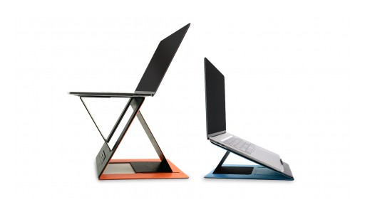 World's First Invisible Sit-Stand Laptop Desk MOFT Z Launches on Kickstarter
