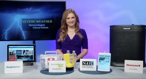 Cheryl Nelson, Meteorologist and Network Lifestyle TV Host, Explains How to Prepare for Severe Weather