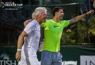 Necker Cup & Necker Open - Sir Richard Branson and Grigor Dimitrov