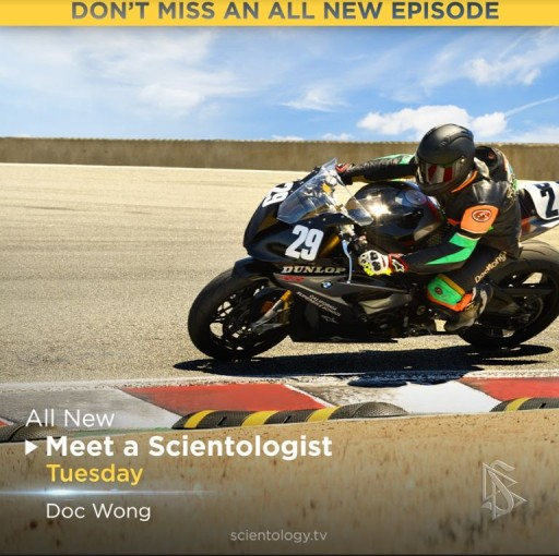 Meet a Scientologist Revs Up With Doc Wong
