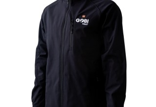 Gobi Heat Sahara Mens 3-Zone Heated Jacket in Onyx
