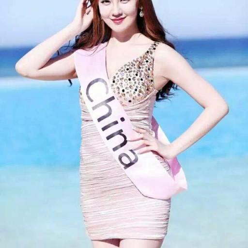 Stunning Chinese Beauty in Columbia University Won Miss Eco University