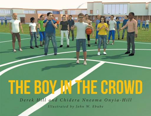 Authors Derek Hill and Chidera Nneoma Onyia-Hill's new book, 'The Boy in the Crowd', is about a young boy who is always picked on by one kid just because he wore glasses