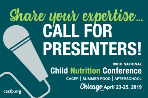 Workshop Proposals Invited for 2019 Child Nutrition Conference in Chicago