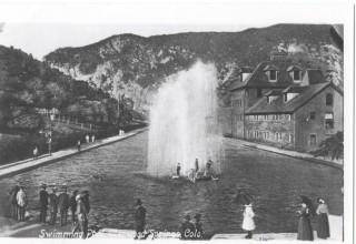 The historic Glenwood Hot Springs
