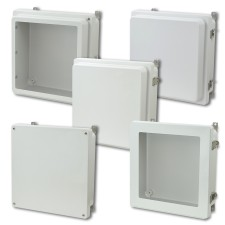 Allied Moulded's new 12x12 AM and AM-R Series FRP Enclosures