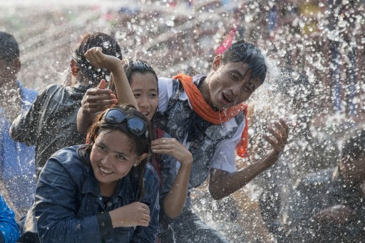 Myanmar Gears Up for Water Festival - New Year Celebration