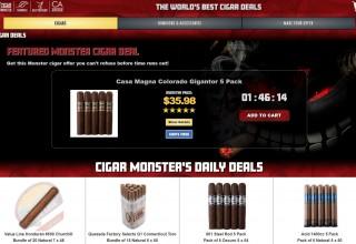 Cigar Monster Desktop Screen Capture