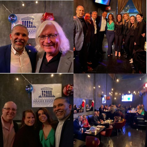 Law Offices of Arash Hashemi Hosts Annual Holiday Party