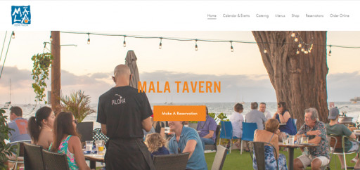 Menadena Launches New Website for Mala Ocean Tavern