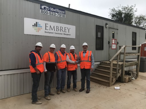 Embrey Partners Project Engineer Partain Saves Man's Life at a Job Site in Ft. Worth