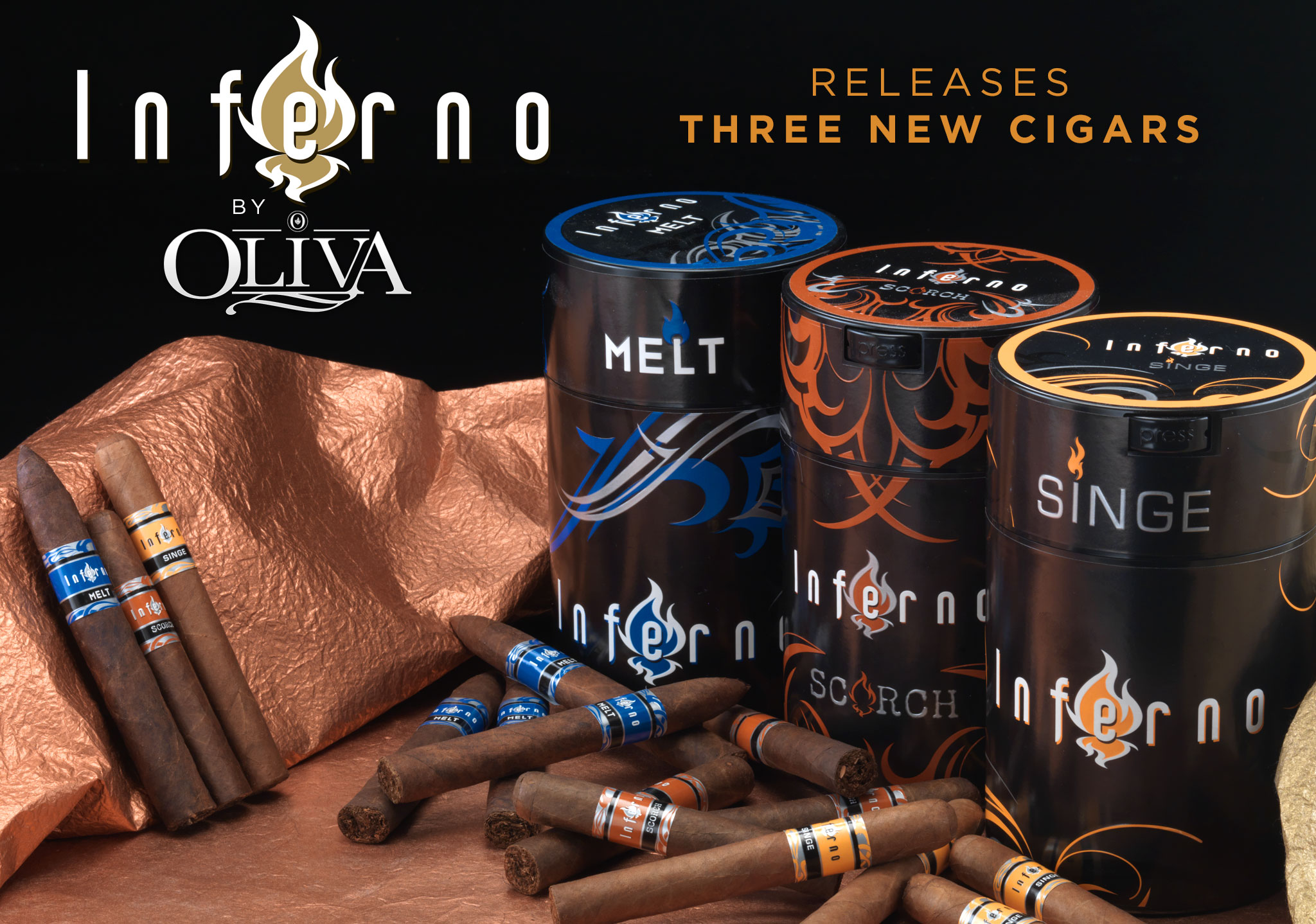 inferno releases three new cigars