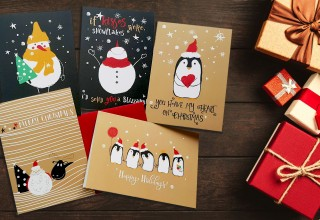 Fun & Adorable Holiday Cards by Illumin Heart