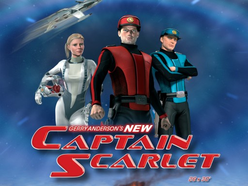 New Captain Scarlet Returns to Fight Against the Mysterons on Amazon