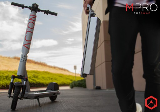 ACTON Launches New Electric Scooter Models With Swappable Battery Features