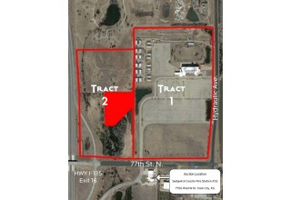 Tract 1 and 2 aerial
