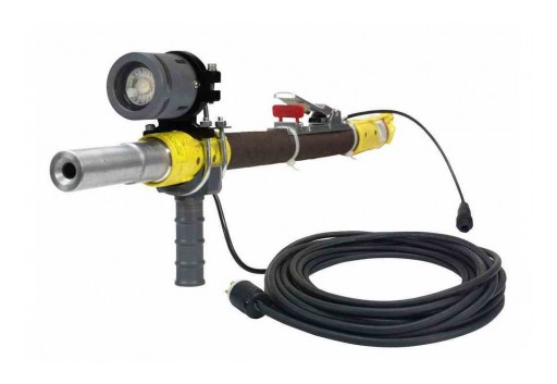 Larson Electronics Releases 18W Work Area LED Nozzle Mount Blasting Light, 24V DC, 1,530 Lumens