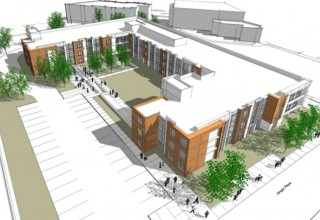 Rendering of Ainger Place Apartments