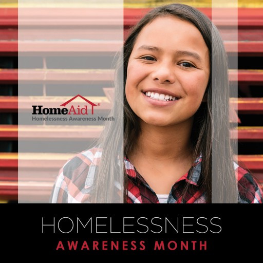 November is HomeAid's Homelessness Awareness Month