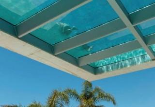 Transparent Pool Floor