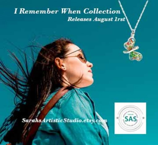Sarah's Artistic Studio Introduces 'I Remember When' Collection of Cremation Jewelry