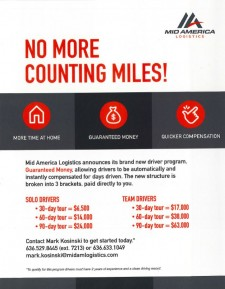No More Counting Miles