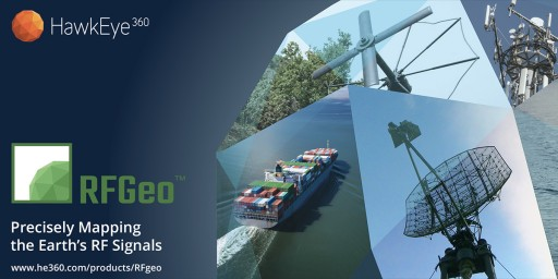 HawkEye 360 Launches First Commercial Product - RFGeo