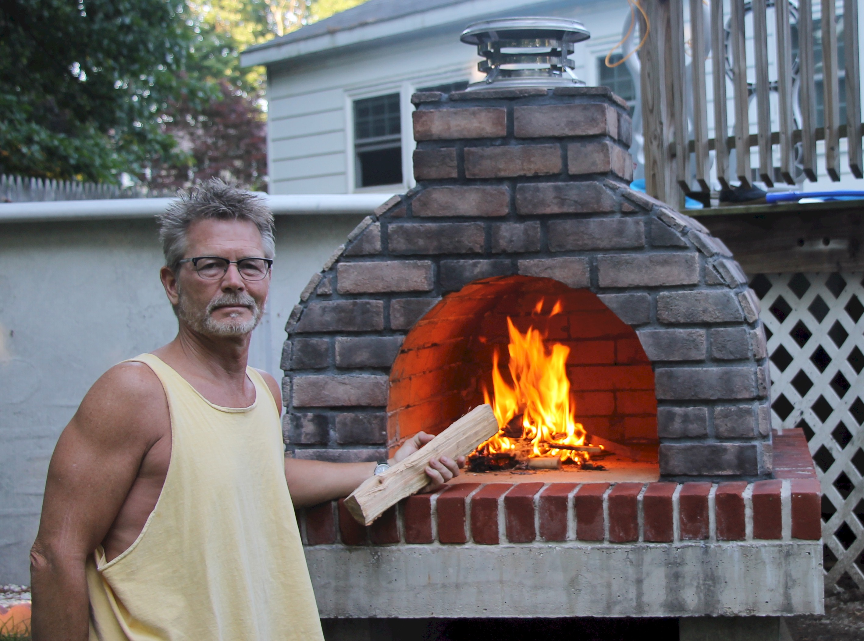 DIY Wood-Fired Outdoor Brick Pizza Ovens Are Not Only Easy ...