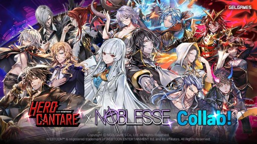 Popular Webcomic Noblesse Comes to Hero Cantare