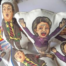 Clinton and Trump Voodoo Dolls