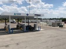 New natural gas station at 8181 South Lancaster Road, Dallas, TX, 75241