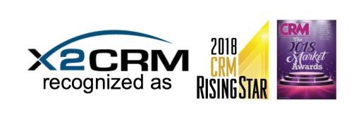 X2CRM Receives 2018 CRM Rising Star Award