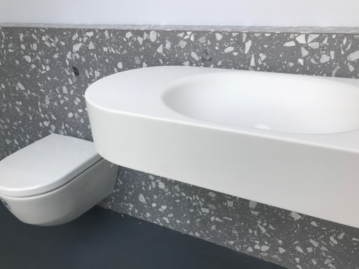 CoveringsETC Introduces Venetian Terrazzo- Torcello Grey G.