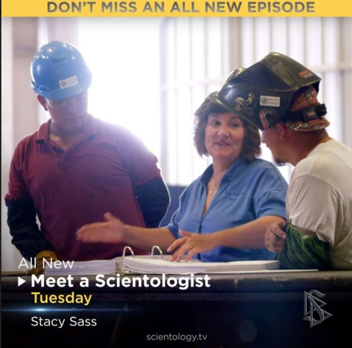 MEET A SCIENTOLOGIST Clocks in With Stacy Sass