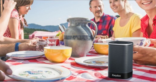 EasyAcc DP100 Bluetooth Speaker Mixes Longest Battery Life and Better Portability With a Room-Filling Sound
