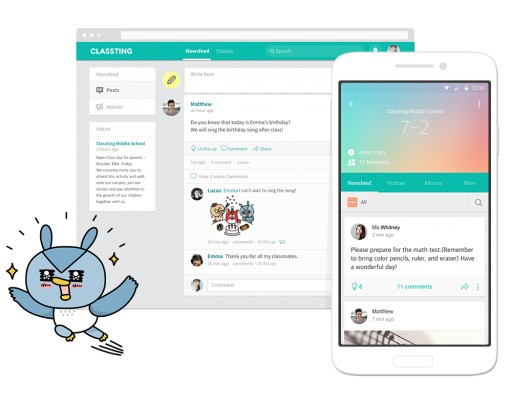 Classting, Korea's Largest Ed-Tech Startup Brings Social Based Adaptive Learning to the US