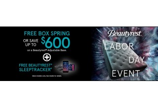 Beautyrest Labor Day Special!