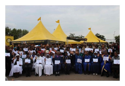120 South African Christian Ministers Graduate Scientology Volunteer Minister Training