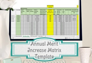 Annual Merit Increase Template