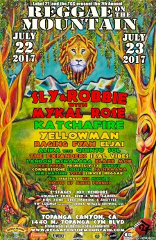 Reggae on the Mountain Music Festival July 22 & July 23
