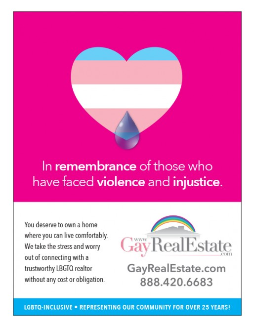 Real Estate Service Co-Sponsors Transgender Day of Remembrance Event, Honors Lives Lost to Violence