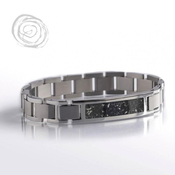 Black Stardust Interchangeable Bracelet