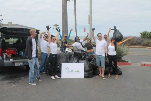 Hundreds of Volunteers Pitch in to Collect '420' Pounds of Trash at BudTrader.com Beach Cleanup