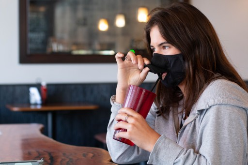 Gator's Multi-Use Face Masks for Eating and Drinking While Staying Safe in Public